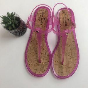 Kate Spade Yari Sandals - Pink Jellies - Size 10